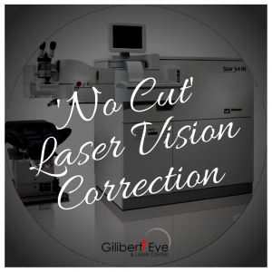 No-Cut Laser Vision Correction