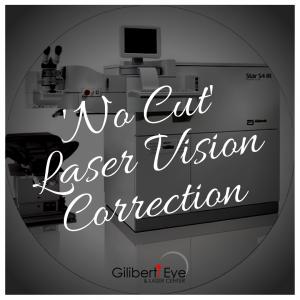 No-Cut Laser Vision Correction
